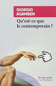 The best books on Contemporary Art - Qu'est-ce que le contemporain? by Giorgio Agamben