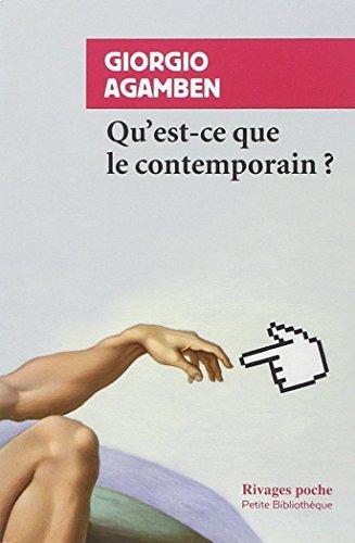 The best books on Contemporary Art - Qu'est-ce que le contemporain? by Giorgio Agamben