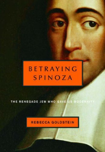 Best Philosophical Novels - Betraying Spinoza by Rebecca Goldstein