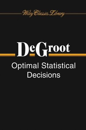 The best books on Risk Management - Optimal Statistical Decisions by Morris H DeGroot