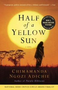 The best books on Displacement - Half of a Yellow Sun by Chimamanda Ngozi Adichie