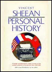 The best books on American Foreign Reporting - Personal History by Vincent Sheean
