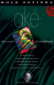 The best books on Nigeria - Aké by Wole Soyinka