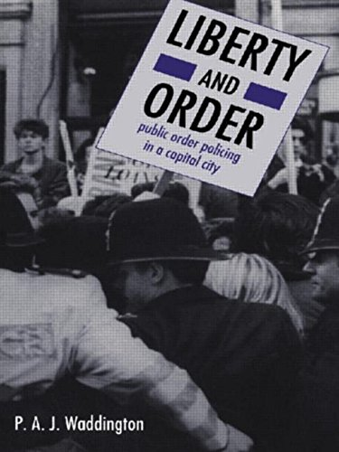 The best books on Policing Public Disorder - Liberty and Order by P A J Waddington