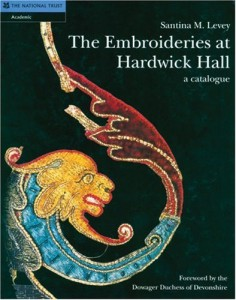 The best books on Art and Culture in Elizabethan England - The Embroideries at Hardwick Hall by Santina M Levey