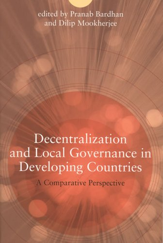 The best books on Economic Development - Decentralization and Local Governance in Developing Countries by Pranab Bardhan