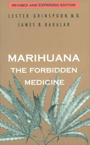 The best books on Medicinal Marijuana - Marijuana by Dr Lester Grinspoon and James B Baker