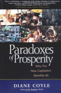 The Best Economics Books of 2018 - Paradoxes of Prosperity by Diane Coyle
