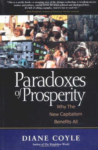Best Economics Books of 2016 - Paradoxes of Prosperity by Diane Coyle