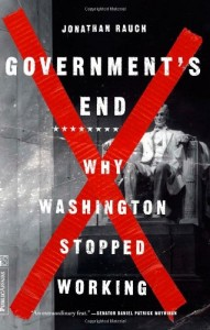 The best books on Marriage - Government's End by Jonathan Rauch