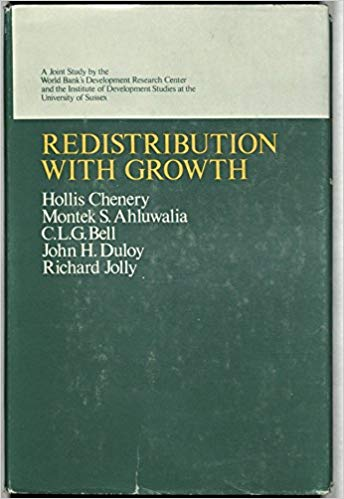 The best books on Economic Development - Redistribution with Growth by H B Chenery
