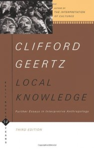 The best books on The Cult of Celebrity - Local Knowledge by Clifford Geertz