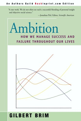 The best books on Happiness - Ambition by Gilbert Brim