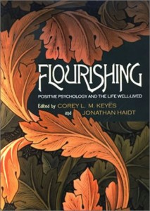 The best books on Happiness - Flourishing by Corey L M Keyes & Jonathan Haidt