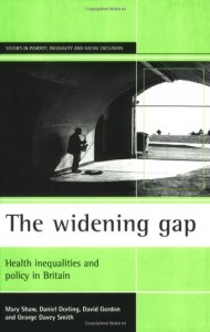 The best books on Modern Britain - The Widening Gap by Danny Dorling
