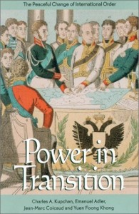 The best books on Grand Strategy - Power in Transition by Charles Kupchan