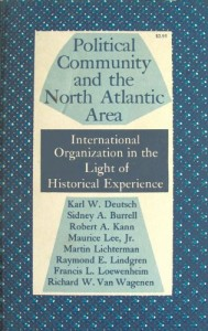 The best books on Grand Strategy - Political Community in the North Atlantic Area by Karl Deutsch