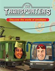 The Transporters DVD by Simon Baron-Cohen