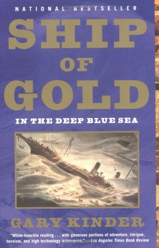 Catherine Manegold on Narrative Non-Fiction - Ship of Gold in the Deep Blue Sea by Gary Kinder