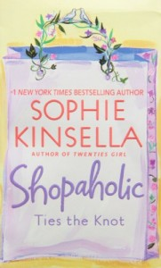 Sophie Kinsella recommends her favourite Chick Lit - Shopaholic Ties the Knot by Sophie Kinsella