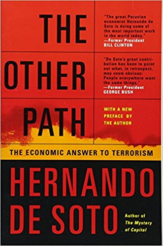 David Frum recommends five Pioneering Conservative Books - The Other Path by Hernando De Soto