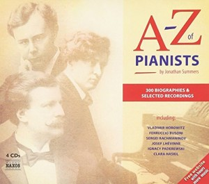The best books on Classical Music - A-Z of Pianists by Jonathan Summers