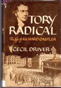 The best books on British Conservatism - Tory Radical by Cecil Herbert Driver