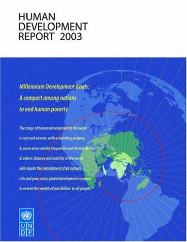 The best books on Children and the Millennium Development Goals - UNDP, The Human Development Report 2003 by UNDP