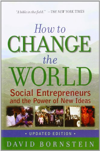The best books on Saving the World - How to Change the World by David Bornstein