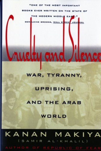 The best books on The History of Iraq - Cruelty and Silence by Kanan Makiya