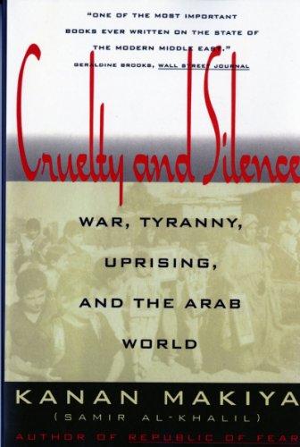 Kanan Makiya recommends the best books on the History of Iraq - Cruelty and Silence by Kanan Makiya