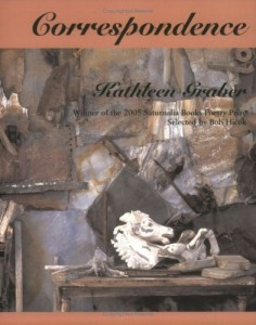 The best books on How to Write Poetry - Correspondence by Kathleen J Graber
