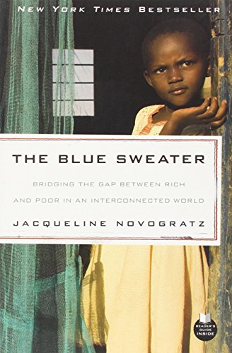 The best books on Saving the World - The Blue Sweater by Jacqueline Novogratz