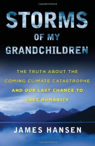The Best Books for Growing up in the Anthropocene - Storms of my Grandchildren by James Hanson