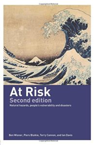The best books on Disaster Diplomacy - At Risk by Ben Wisner, Piers Blaikie & Terry Cannon and Ian Davis