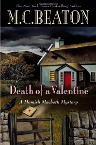 The best books on Cosy Mysteries - Death of a Valentine by M C Beaton