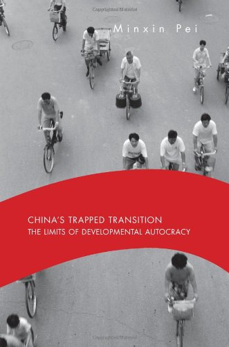 The best books on Obstacles to Political Reform in China - China's Trapped Transition by Minxin Pei