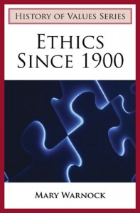 The best books on Morality Without God - Ethics Since 1900 by Mary Warnock
