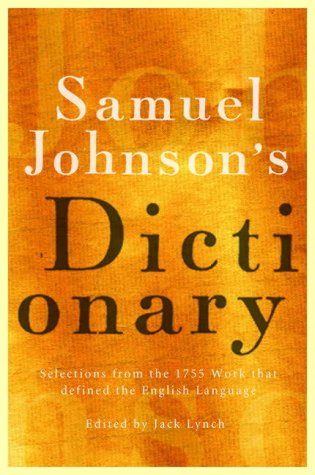 The best books on US and UK English - Samuel Johnson's Dictionary