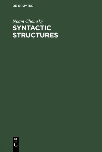 The best books on The Philosophy of Language - Syntactic Structures by Noam Chomsky