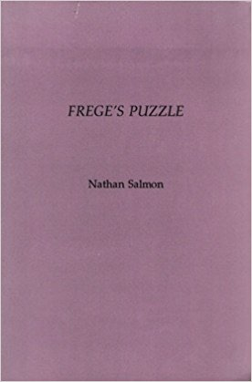 The best books on The Philosophy of Language - Frege's Puzzle by Nathan Salmon