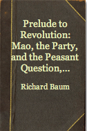 The best books on Obstacles to Political Reform in China - Prelude to Revolution by Richard Baum