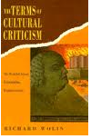 The best books on France in the 1960s - The Terms of Cultural Criticism by Richard Wolin