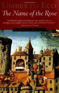 Best Medieval Historical Fiction - The Name of the Rose by Umberto Eco