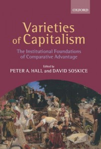 The best books on The Euro - Varieties of Capitalism by Peter Hall and David Soskice