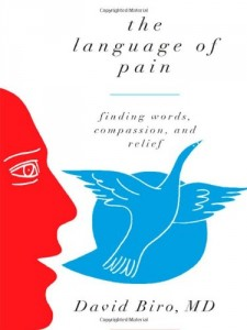 The best books on Pain - The Language of Pain by David Biro