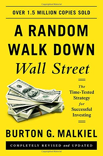 Best Investment Books for Beginners - A Random Walk Down Wall Street by Burton Malkiel