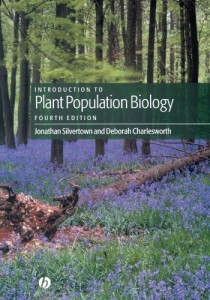The best books on Plants - Introduction to Plant Population Biology by Jonathan Silvertown