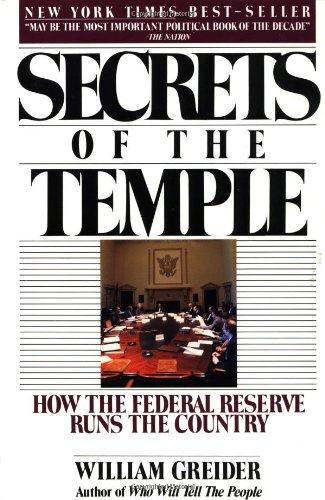 The best books on Economic History - Secrets of the Temple by William Greider