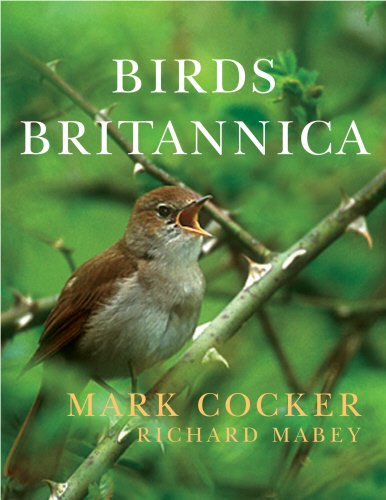 The best books on Birdwatching - Birds Britannica by Mark Cocker and Richard Mabey